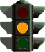Orange Traffic Light picture